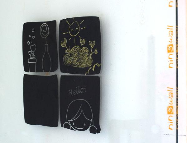 Sinh động với bảng đen viết phấn cho các bé