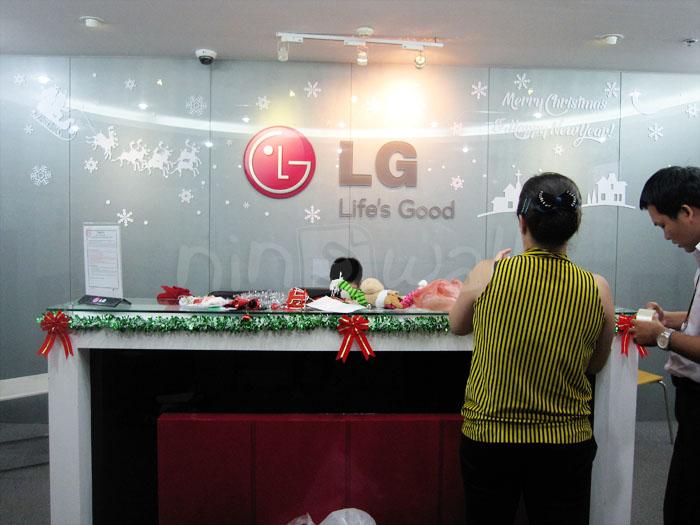 Ấm áp Giáng sinh với công ty LG