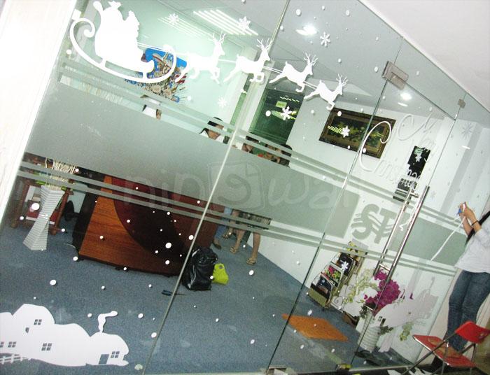 Trang trí giáng Sinh tại công ty SOTHACO
