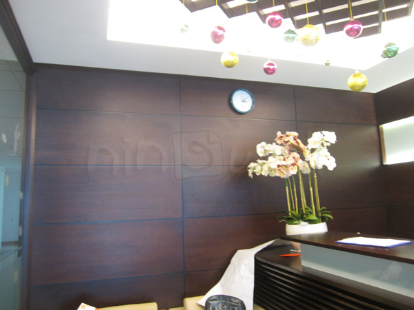Rực rỡ xuân ở công ty Công ty Sao Vàng - Vincom Q.1