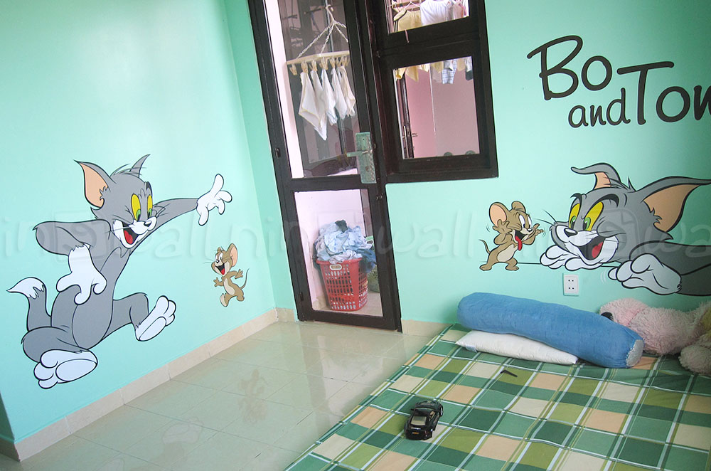 Tinh nghịch với Tom and Jerry...