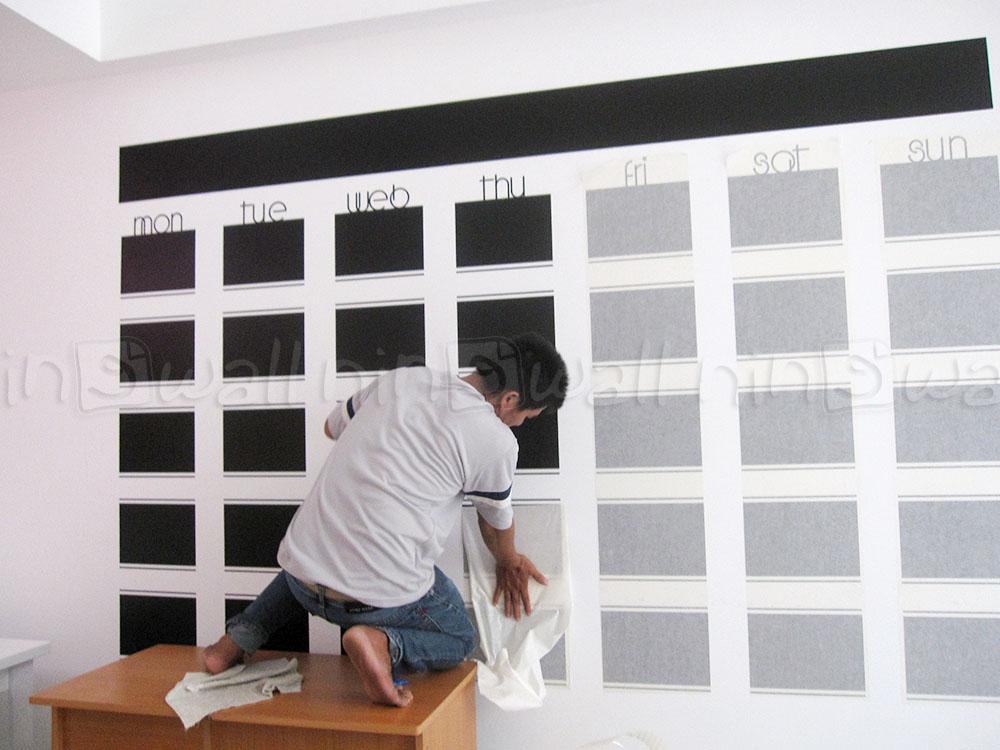 Ấn tượng với bảng đen khổng lồ!