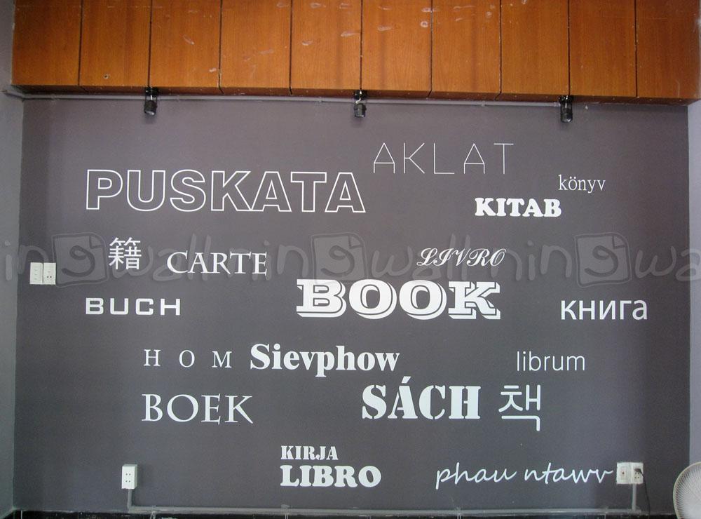 Những con chữ đa dạng tại tiệm sách Q.3