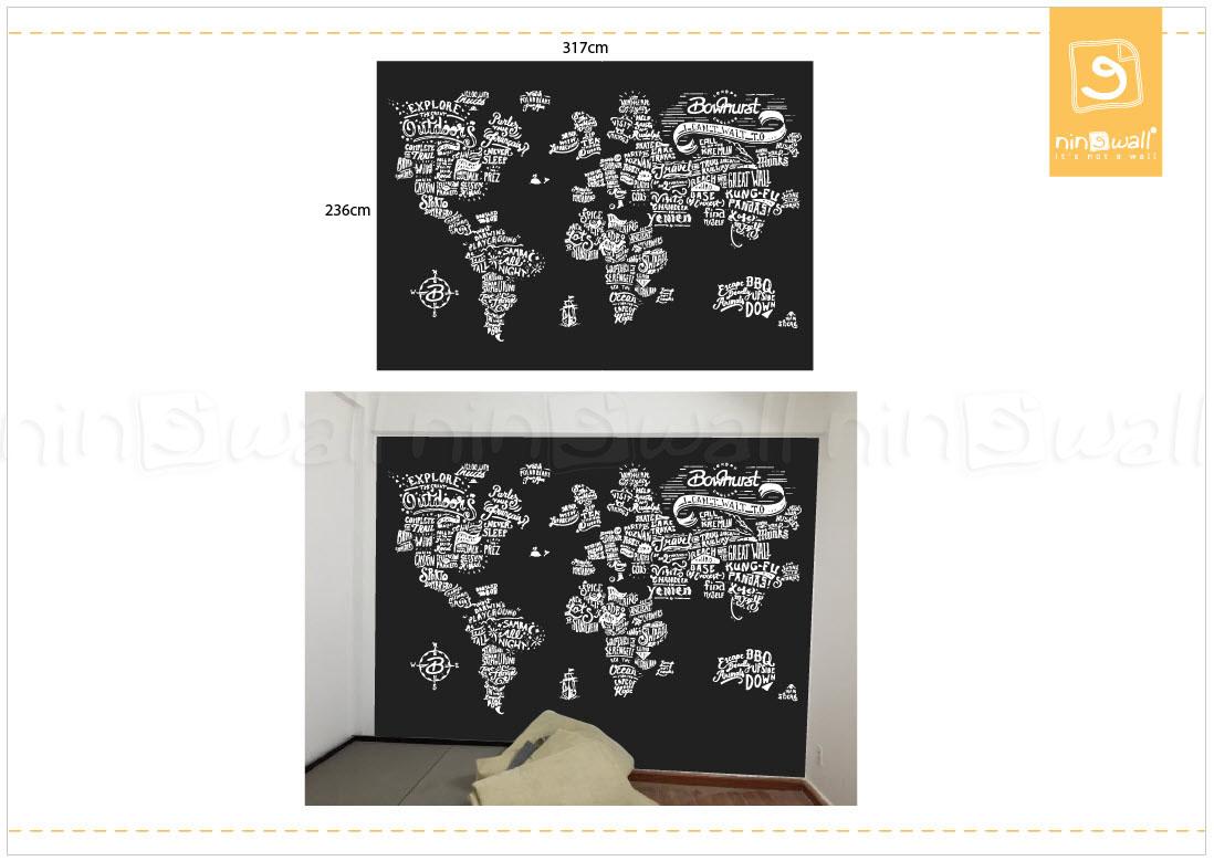 Bản đồ thế giới độc đáo