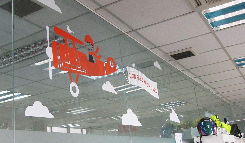 Trang trí phòng làm việc Jetstar