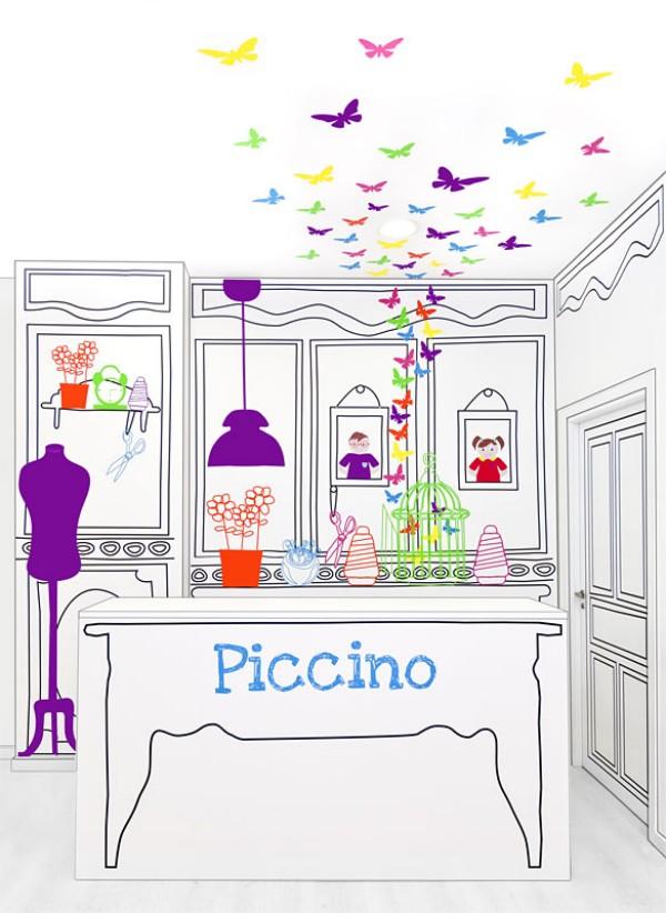 Ảo ảo thực thực với Piccino Shop