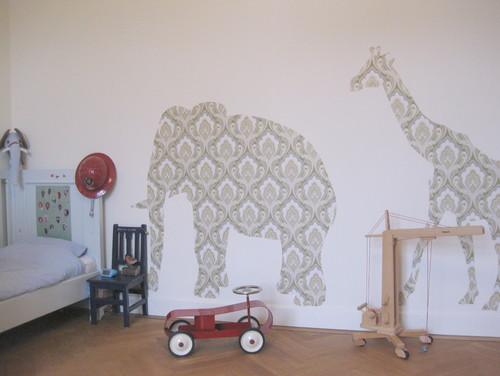 12 Cách trang trí với Decal dán tường