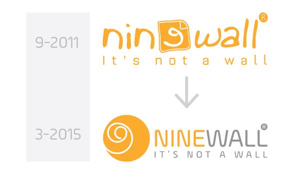 Thông báo thay đổi logo NINEWALL
