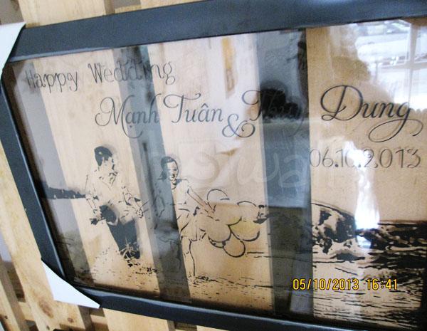Quà tặng độc đáo dành cho cô dâu & chú rể