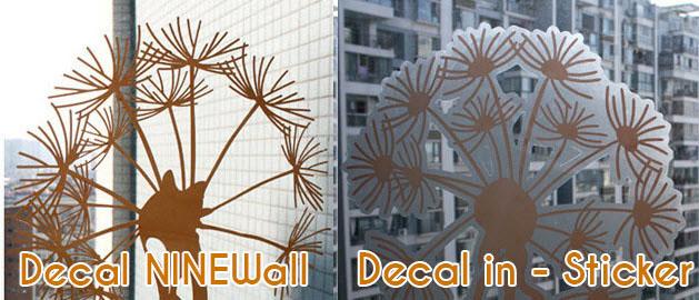 Phân biệt decal NINEWall và decal in bằng mực (phần 1)