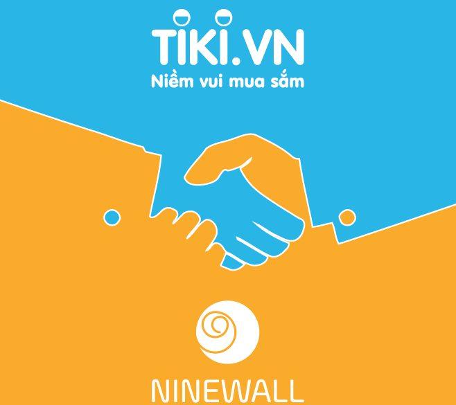 Decal dán tường NINEWall mở rộng kênh bán hàng cùng Tiki.vn