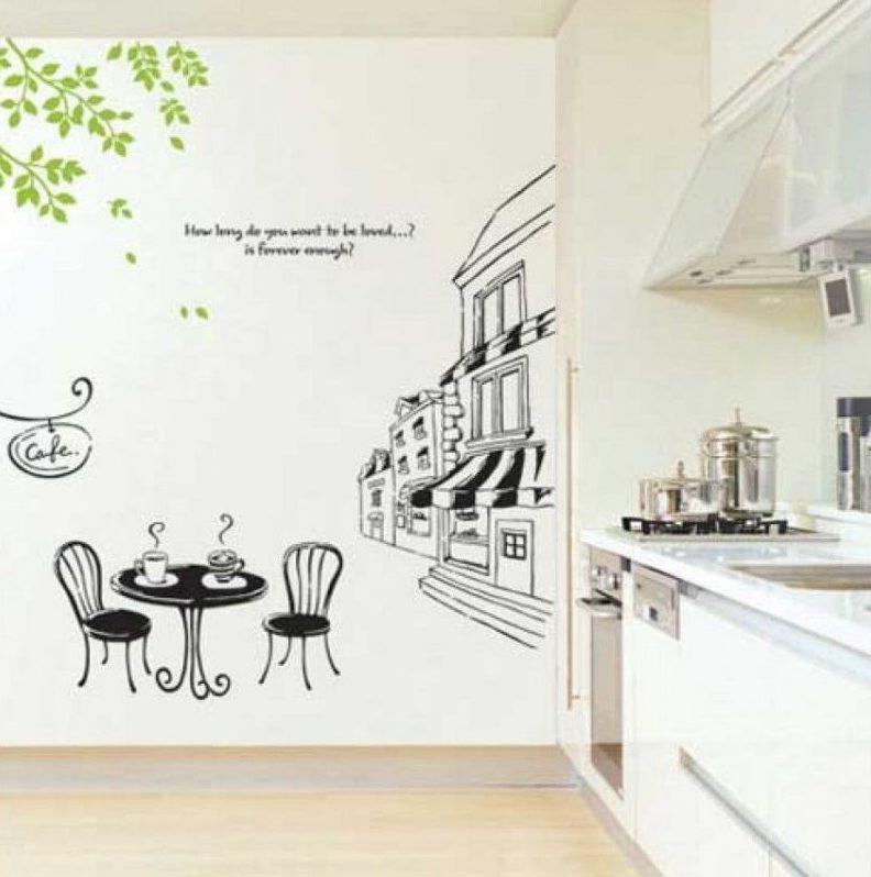 decal kiến trúc cách trang trí độc đáo cho nội thất