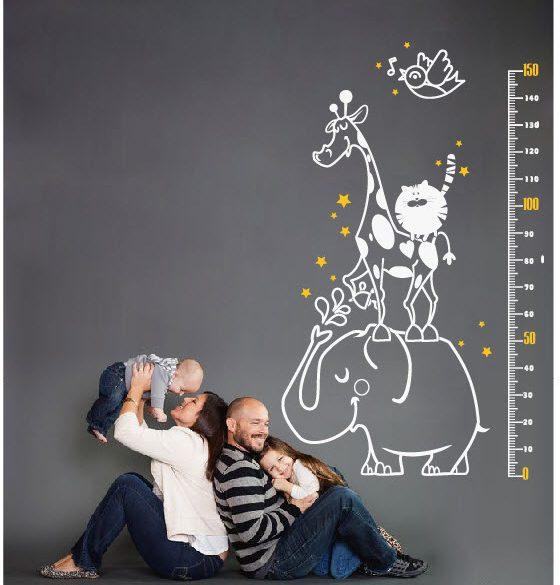Vui cùng thước đo chiều cao