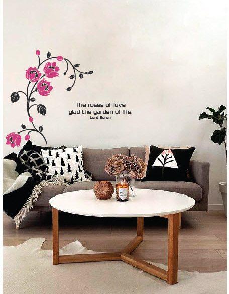 Những bức tường nở hoa