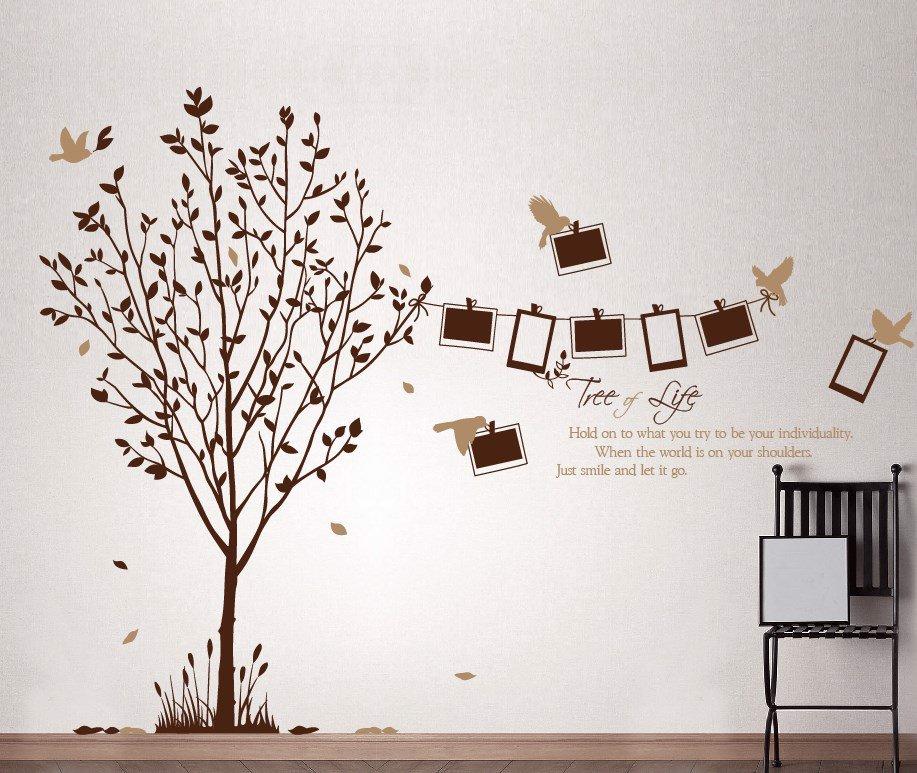 Decal dán tường cafe thiên nhiên