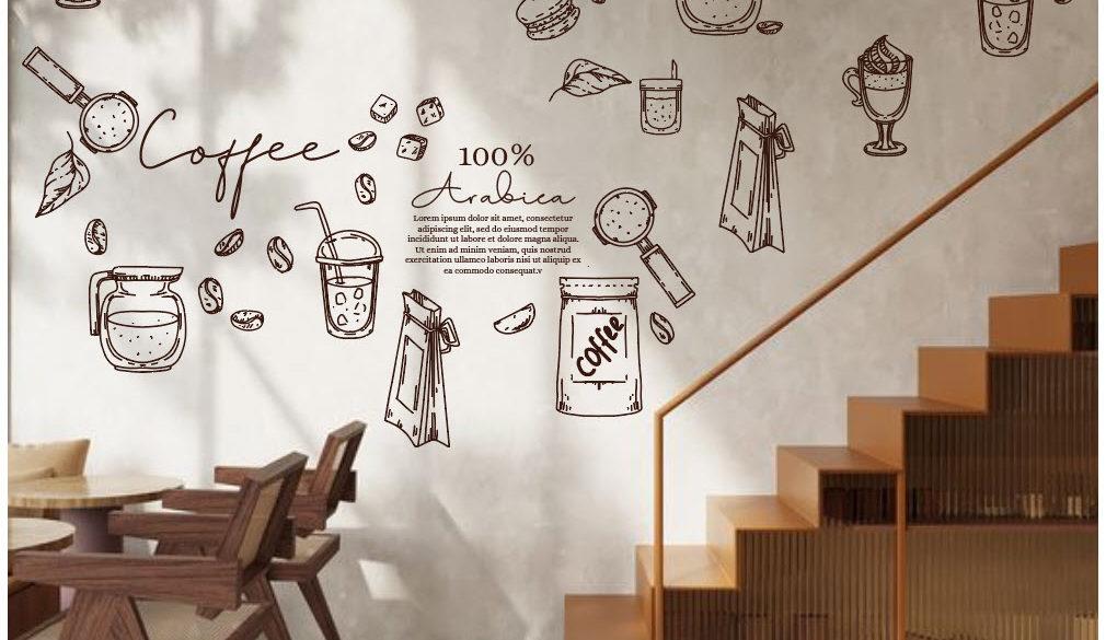 Mẫu sản phẩm, hình gia công và hình thực tế quán HD Coffee – Tea Quận 12