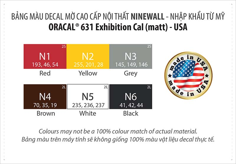 Oracal 631 NINEWall